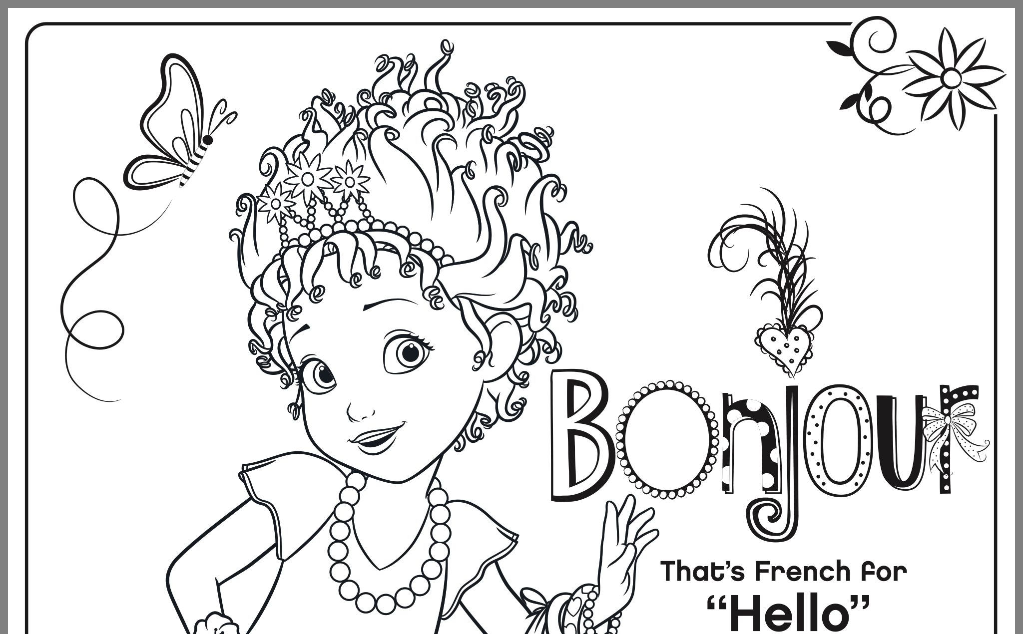 Pin By Holly Greene On Baby Girl Greene Coloring Pages Fancy Nancy Female Sketch [ 1270 x 2048 Pixel ]
