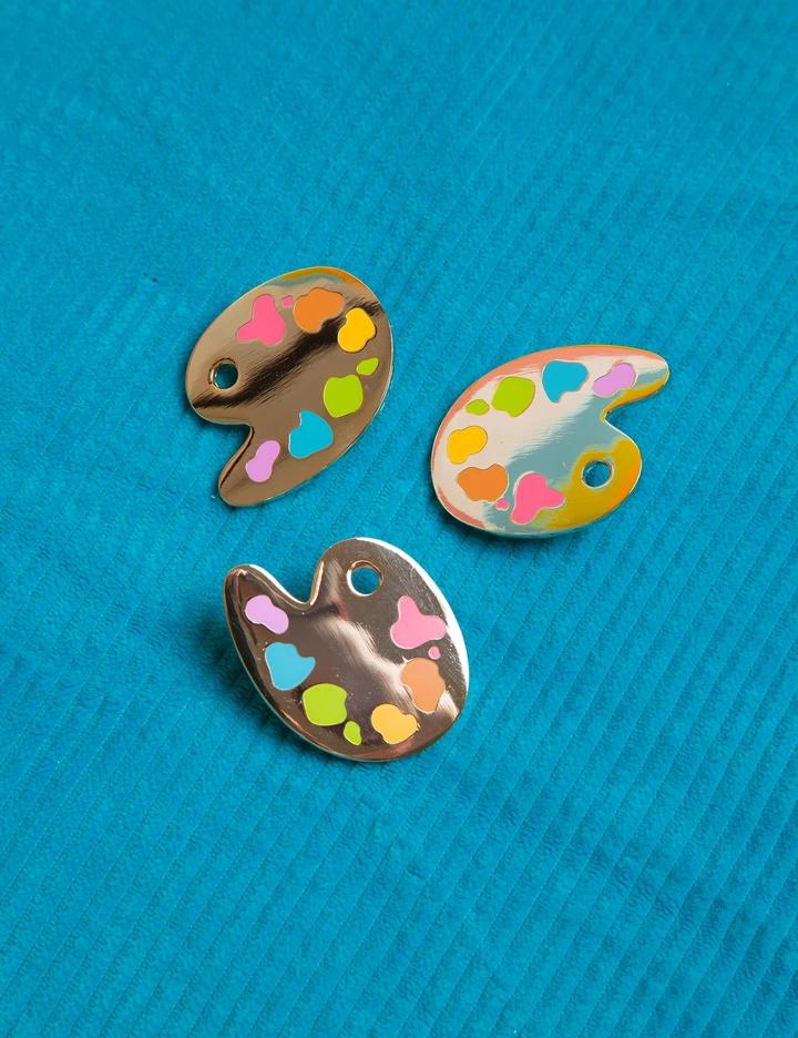Painter's Palette Pin