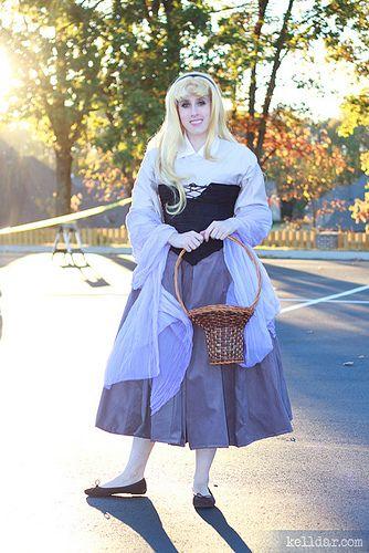 Briar Rose costume tutorial