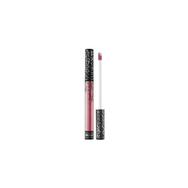 Kat Von D Everlasting Liquid Lipstick Lip (66 BRL) ❤ liked on Polyvore featuring beauty products, makeup, lip makeup, lipstick, lips, long wear lipstick, lip gloss makeup, glossy lipstick, kat von d lipstick and kat von d