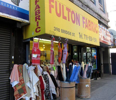 Fabric Stores In Brooklyn Ny Take Me Here Pinterest
