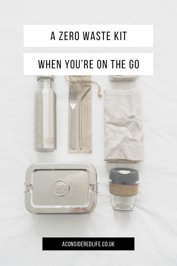 Zero waste - on the go - travel slow