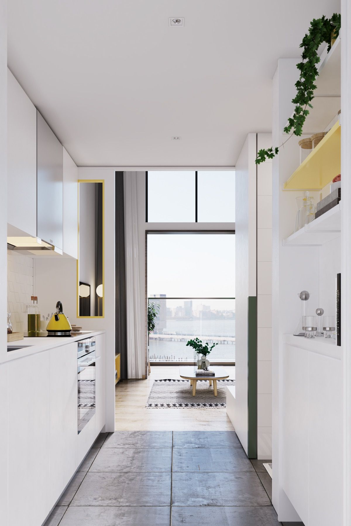 Superior Here We Have Three Scandinavian Style Homes That Use Happy Notes Of Bright  Sunshine Yellow In