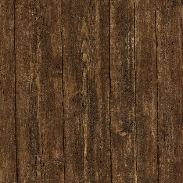 Sample Timber Brown Wood Panel Wallpaper design by Brewster Home