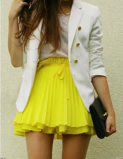 Skirt & Coat. Spring and summer