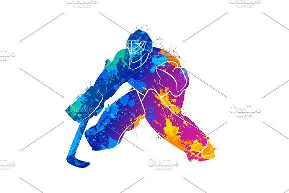 Abstract Hockey Goalkeeper I 2020