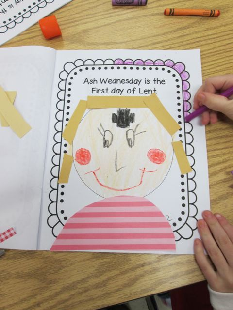 Ash Wednesday Activities : wednesday, activities, Religious, Education