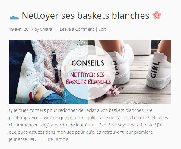 comment nettoyer basket blanche adidas