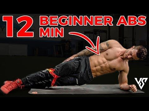 12 minute beginner ab workout you can do from home  v