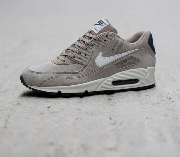 new product 146e2 a2071 Nike Air Max 90 Essential-Classic Stone Suede