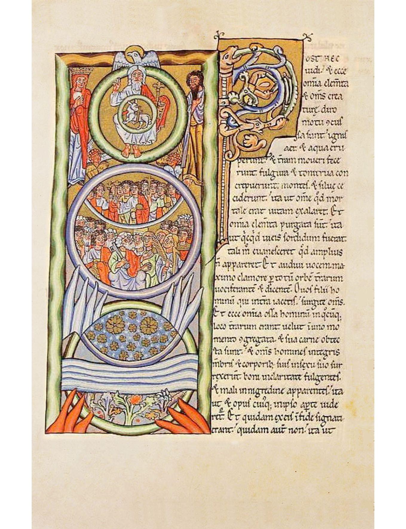 Hildegard Von Bingen Scivias34 Dertiende Visioen Van Het Eerste