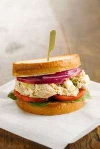 Jamie Deen's Chicken SaladSandwich