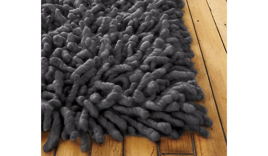 Nesta Rug 6 X 9 Charcoal Modern Dwr Design Within Reach Rugs Rugs On Carpet Rug Design