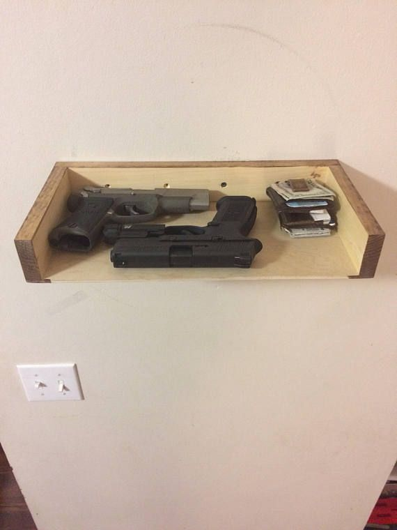 Concealment Shelf Shelf With Hidden Compartment Magnetic Lock
