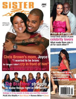 does chris brown have a sister