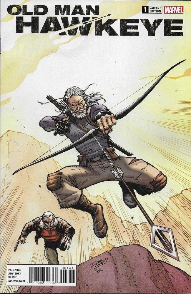 Marvel Old Man Hawkeye comic issue 1 Limited Lim variant