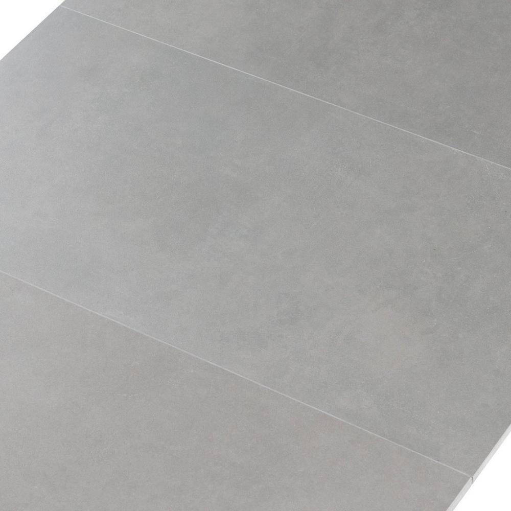 concept gray porcelain tile floor