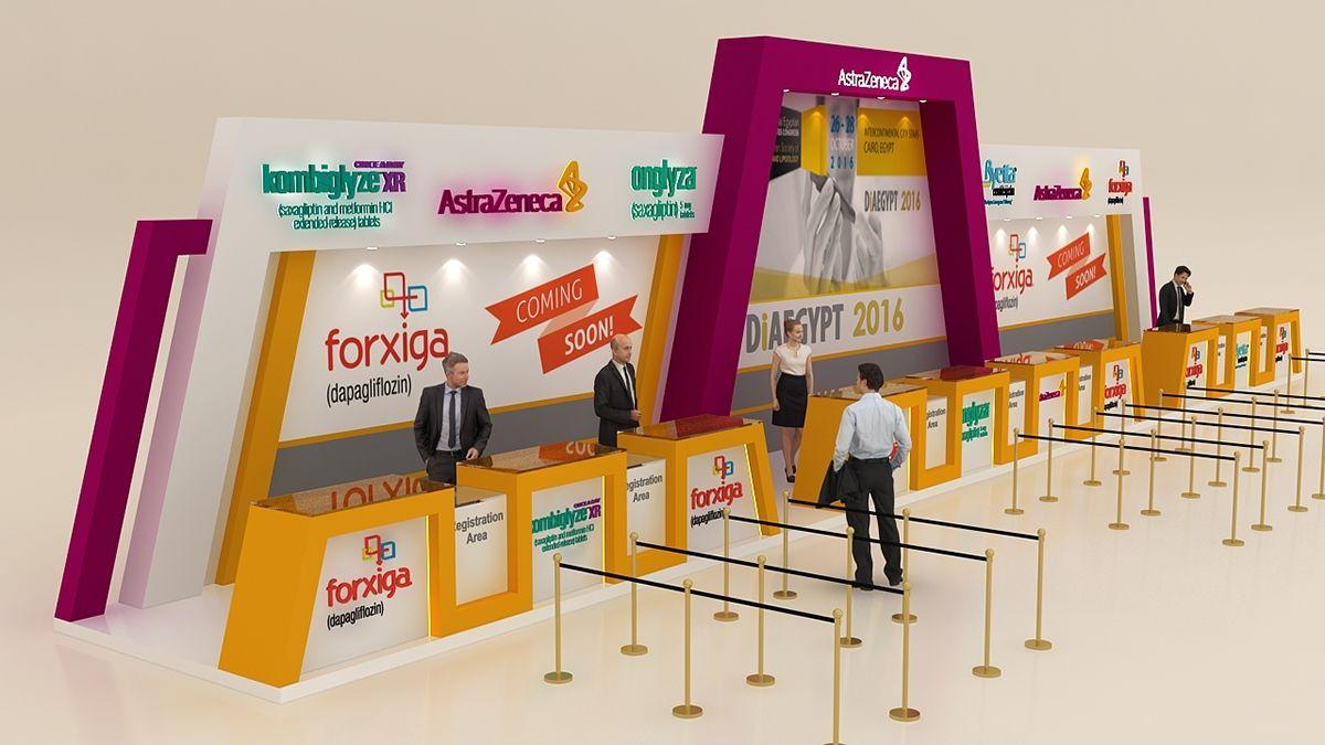 Astrazeneca Registration Desk On Behance Exhibition Stand Design Company Profile Design Event Registration