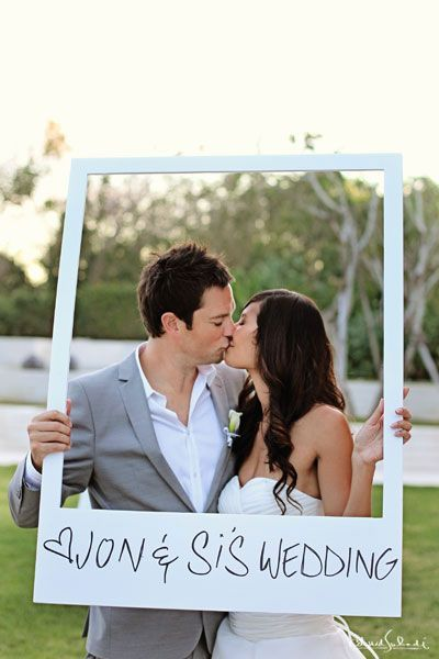 wedding picture frame photo props diy ideas-To find more wedding ...