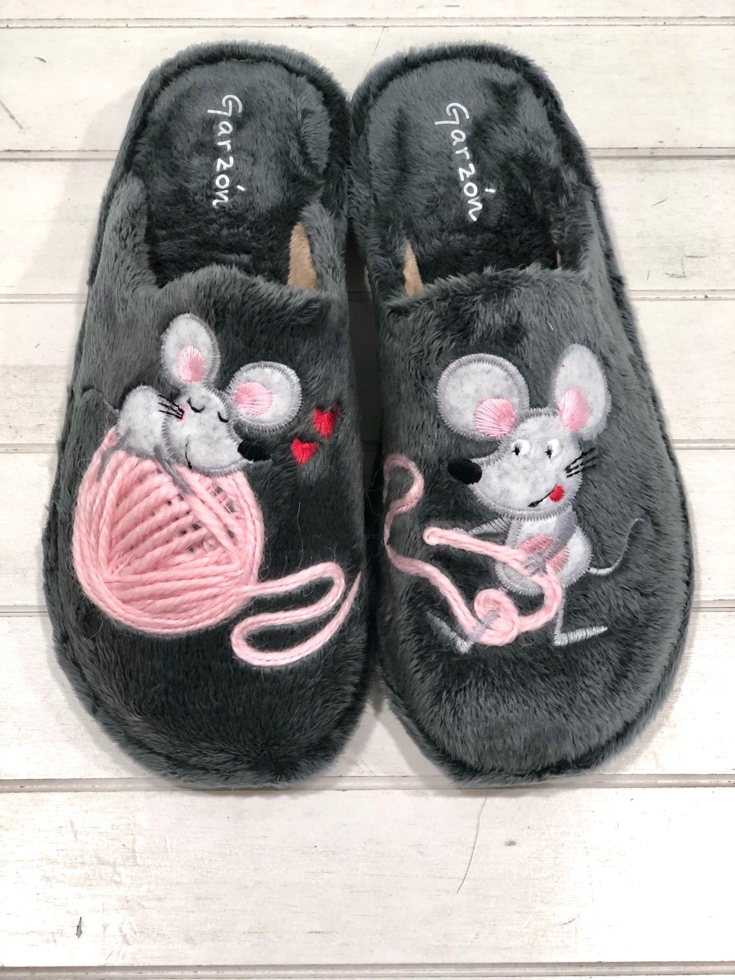 Zapatillas Mujer Garzón Ratones Ovillo Zapatos Online Calzado Mujer Zapatillas Mujer Zapatillas De Casa Zapatillas