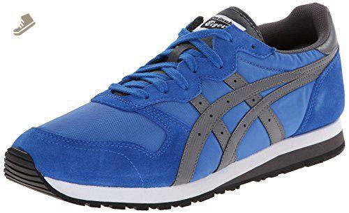 Onitsuka Tiger OC Runner Classic Running Shoe, Strong Blue/Grey, 11 M US