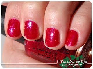 OPI I love the look of short bright red nails :) do it when it's dark & gloomy to add a bit of sunshine:)