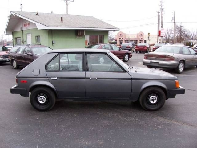 1989 Dodge Omni for Sale 1 - Dodge Omni My First Car Except Mine Was White Loved My Grandma - 1989 Dodge Omni for Sale 1