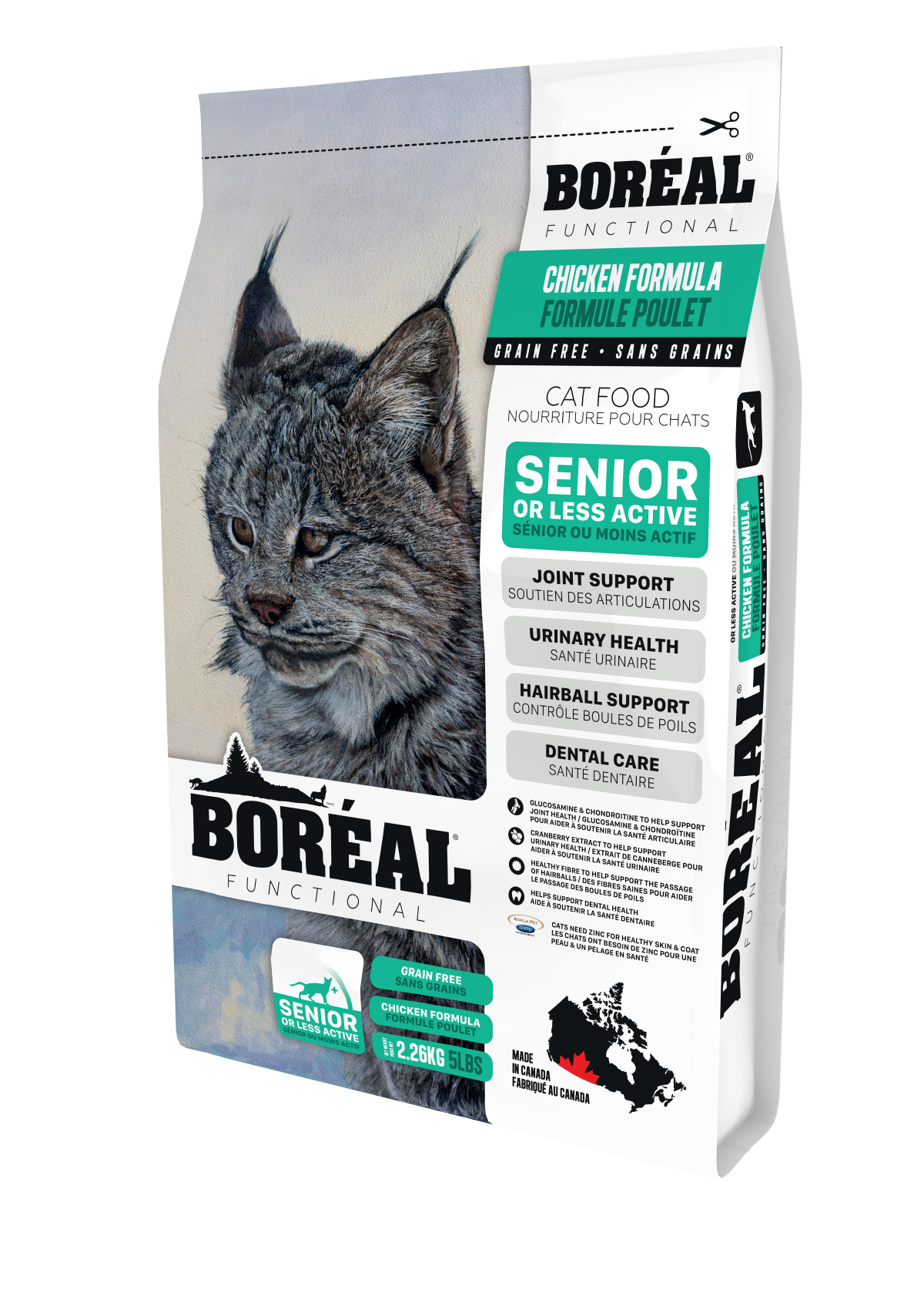 Boreal Functional Senior and Less Active Cat in 2020