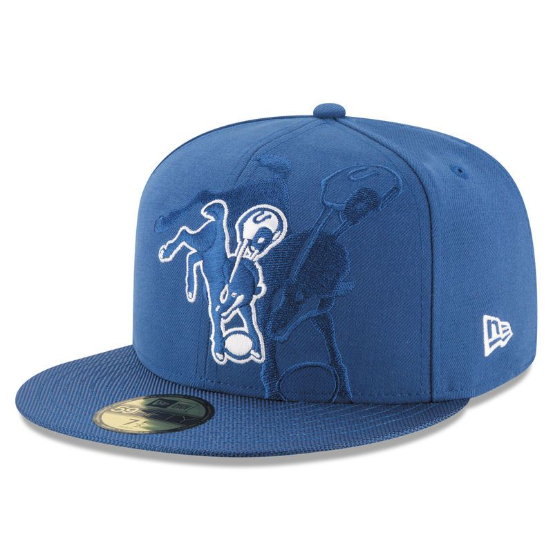 cheap for discount 3da9c 89a11 Indianapolis Colts New Era Sideline Classic 59FIFTY Fitted Hat - Royal