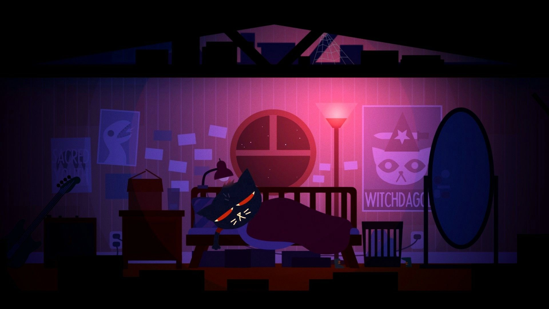 Night In The Woods Go To Bed Yes No Night In The Wood Art Challenge Video Game Collection