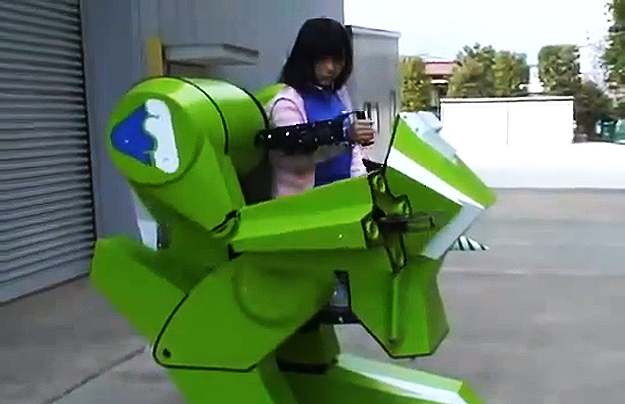 Cool Robot Toys : Cool concept personal walker robot toy for kids will