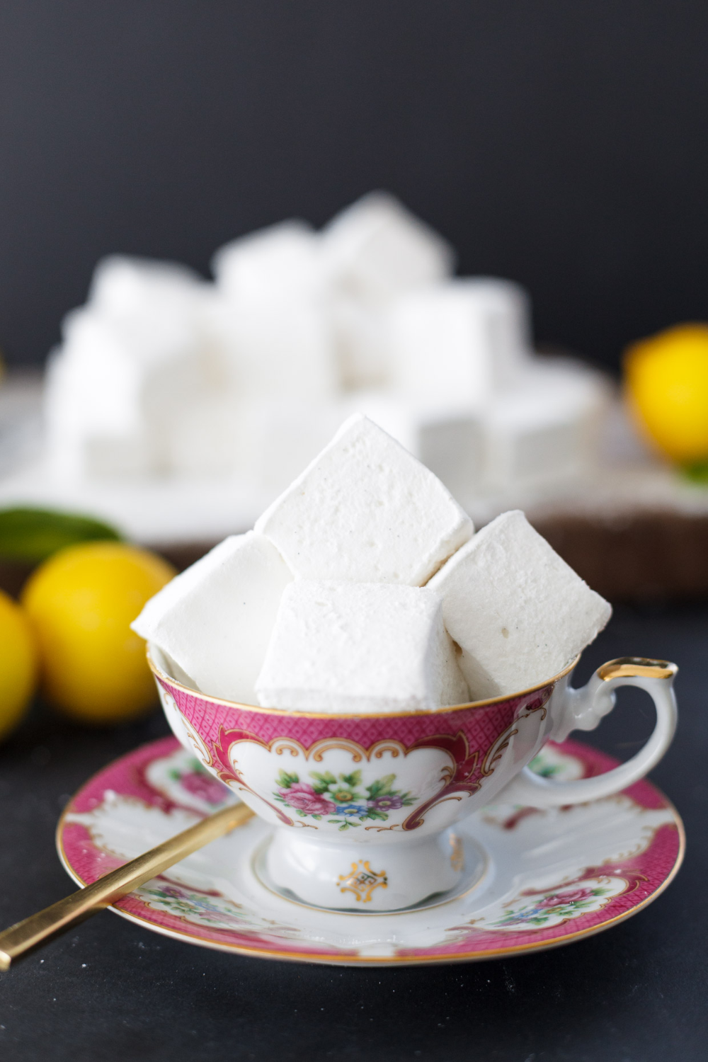 Photo of Homemade lemon meringue marshmallows