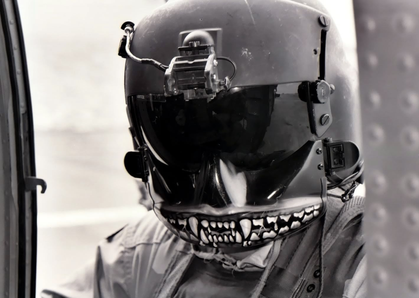 painted face masks scary US air force pilot - Google Search | BAMF ...