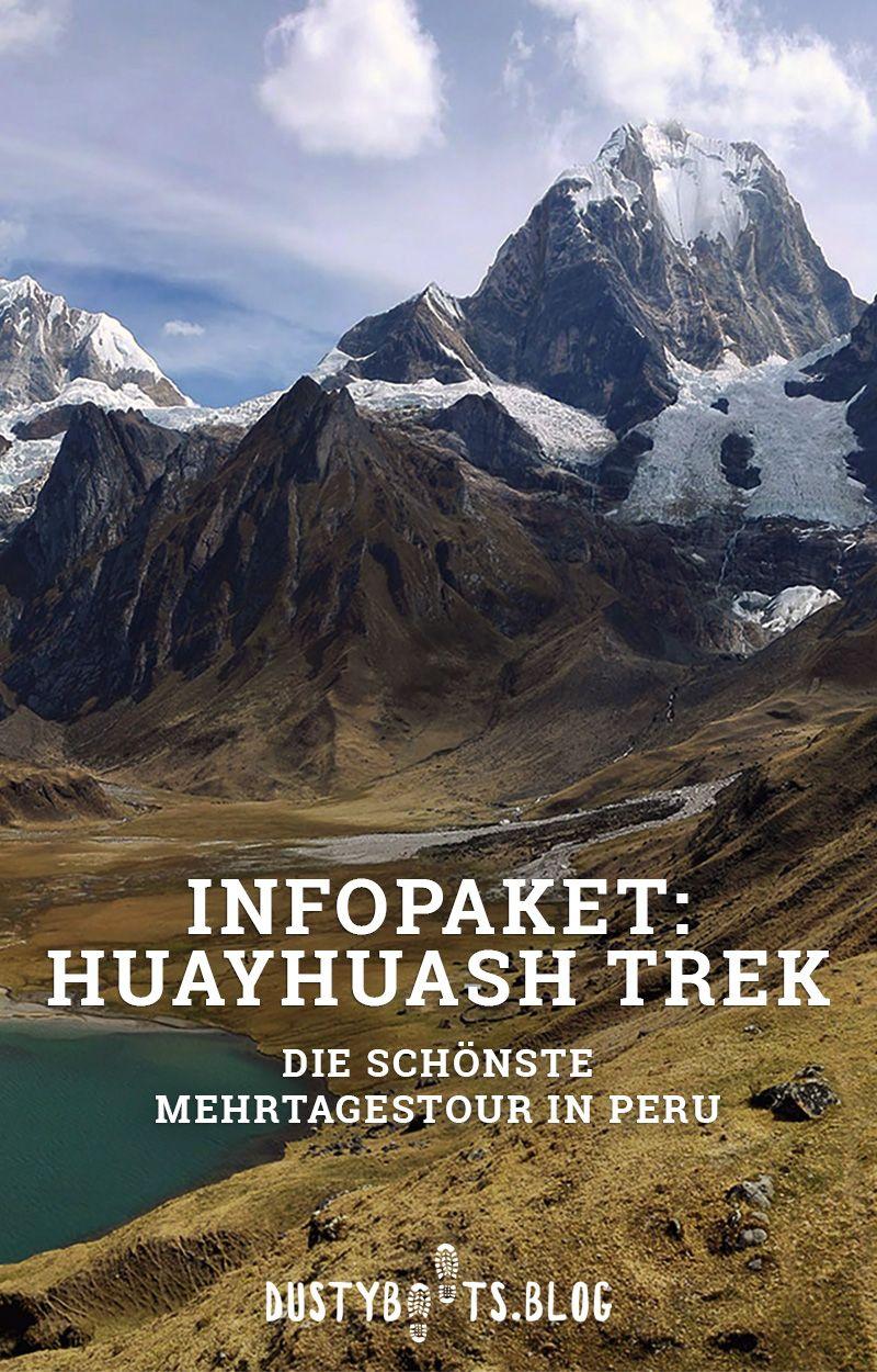 Infopaket Huayhuash-Trek in Peru ohne Guide