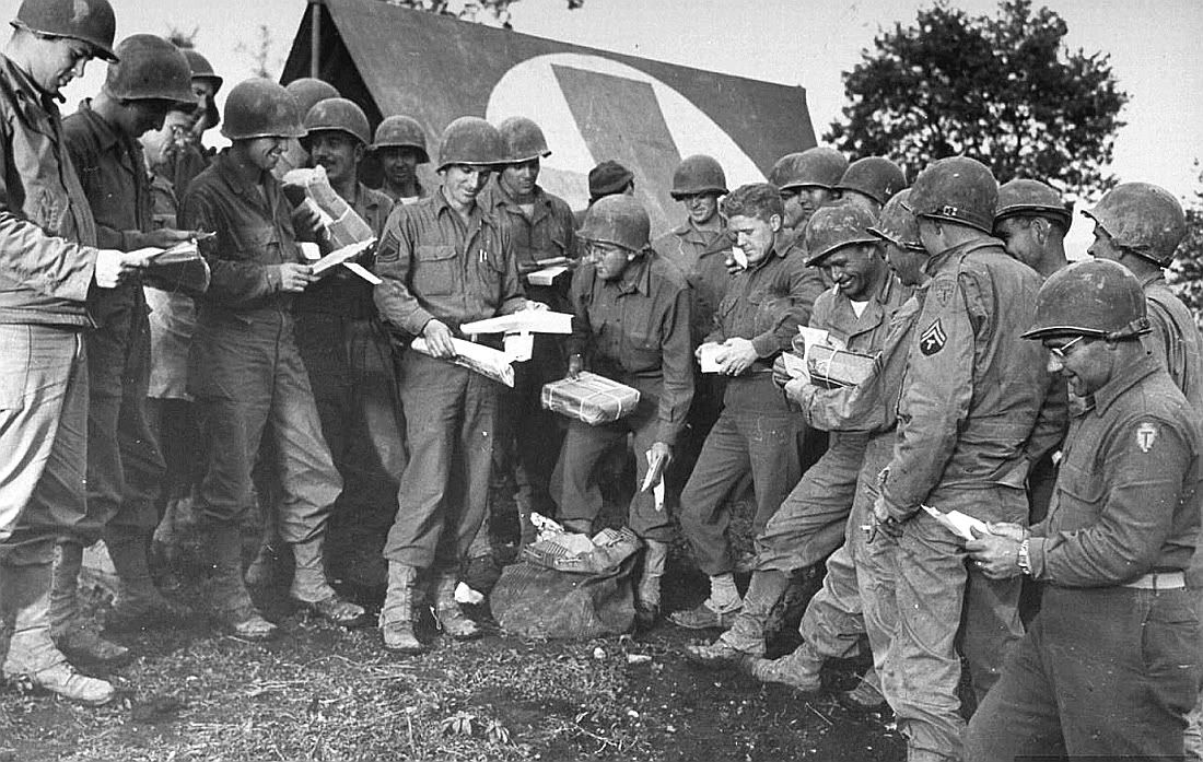 Mail call, ITALY 1944