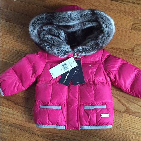 1fc74659e Tommy Hilfiger Baby girl winter coat Tommy Hilfiger Baby girl winter ...
