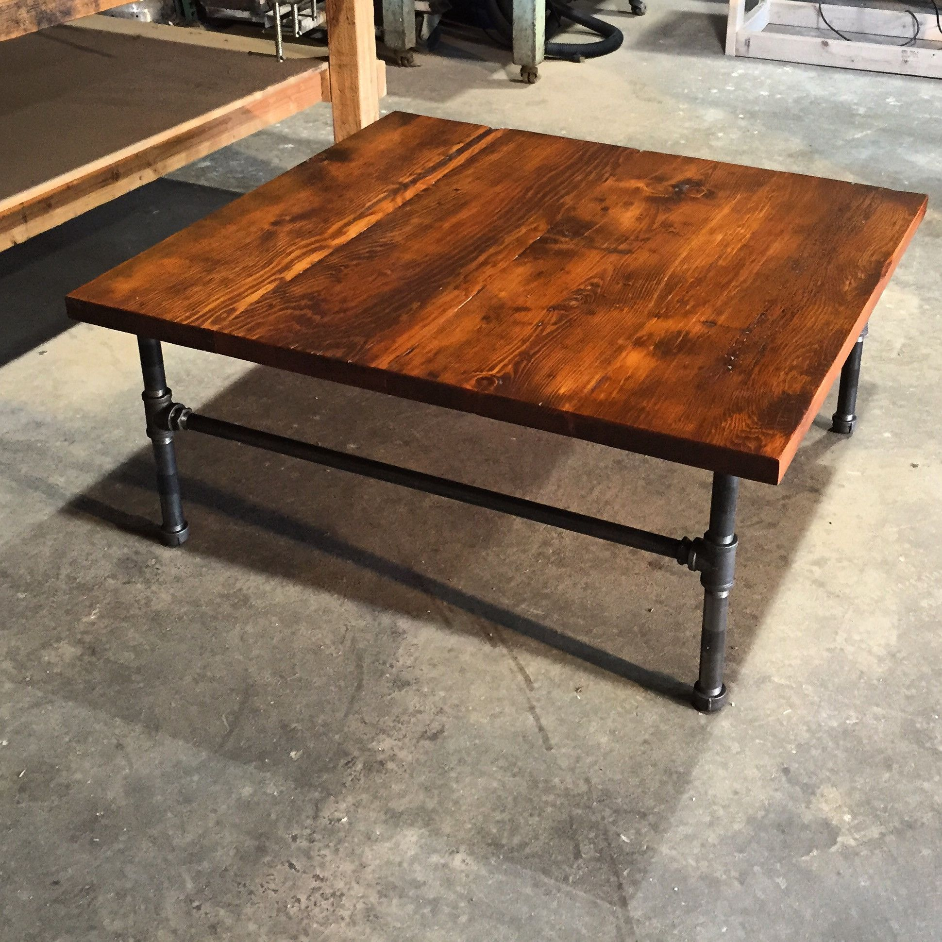 77 Square Reclaimed Wood Coffee Table Cool Apartment Furniture Check More At Http