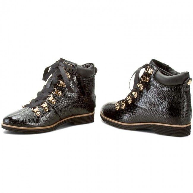 Botki Kazar Isleta 26959 L8 00 Czarny Shoes Sneakers Fashion