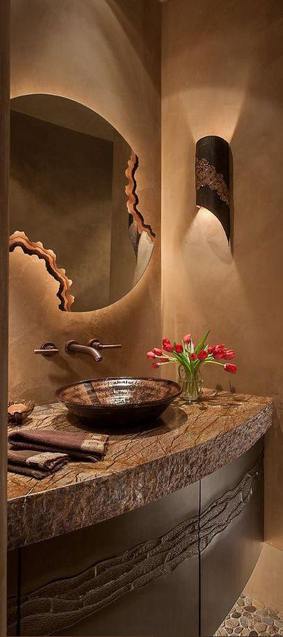 I Really Hate Those Bowl Sinks Love The Mirror Ideas For Bathroomsbathrooms Decorbathroom