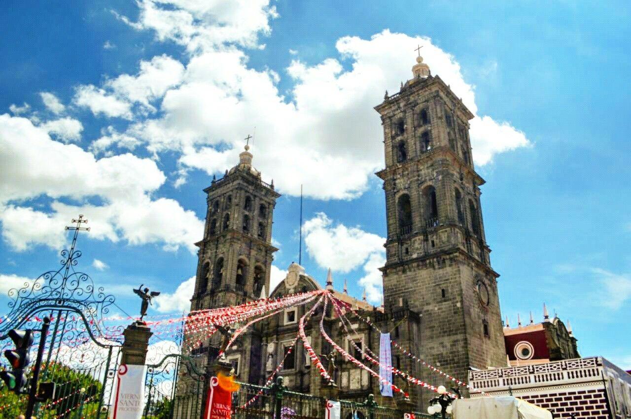#México. #Paisaje. Iglesia.