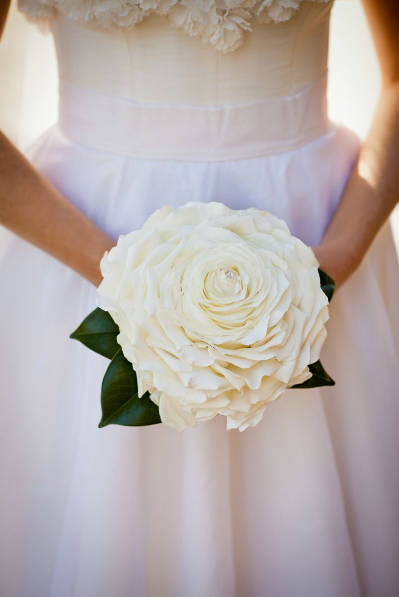 Glamelia rose bouquet one big rose hand stitched from about 35 white and gold wedding bouquet composite petal or glamelia bouquet brides of adelaide magazine glamelia bridal bouquet petal composite bouquet izmirmasajfo Choice Image