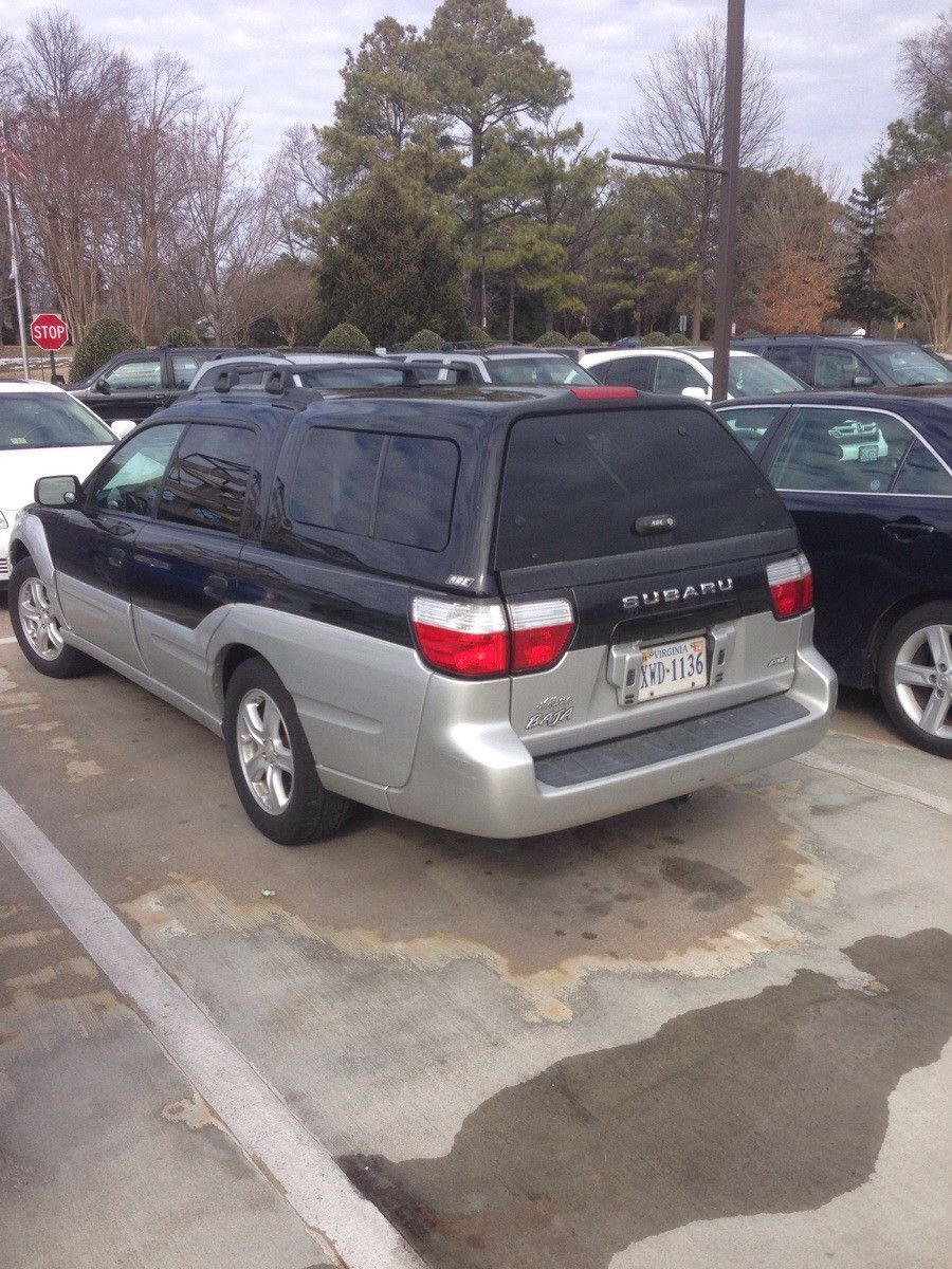 2006 Subaru Baja with Pickup Bed Cap & Cool Subaru Baja...why are there not more of these?   Wish List ...