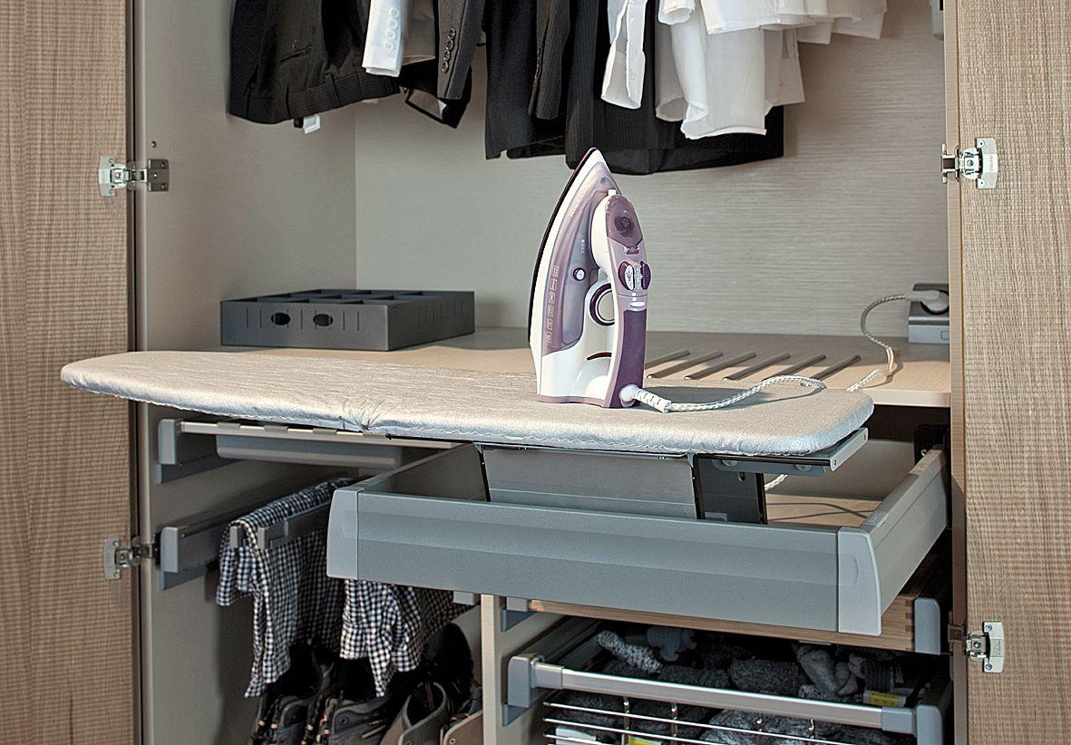 ironing board furniture. Häfele - Ironfix Ironing Board Furniture