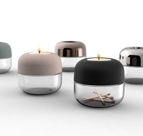 MONOQI | 2 Show Teelichthalter. BeleuchtungBetonGute  IdeenLichtleinZuhauseProdukteEinfachDekorationWohnen
