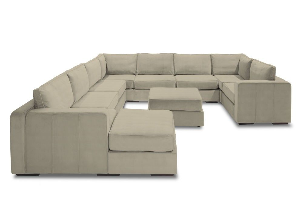 Almost Game Day! Save during our Big (Game) Day Sale on Sactionals like this G Lounger with Ivory Solid Polylinen Covers | #Lovesac #Sectional #Sofa #Couch #sale
