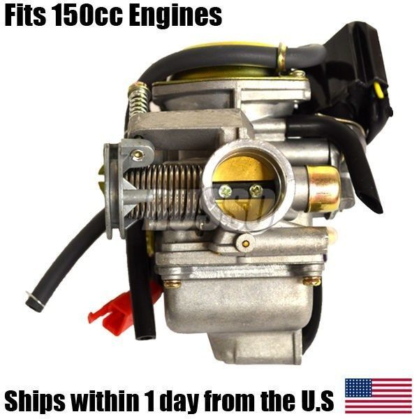 Gy6 150cc Carburetor 4 Cycle Carb Scooter Moped Go Kart Gy 6 Jonway Taotao Sunl 150cc Go Kart Carburetor