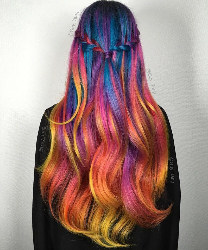Guy Tang Hair Artist Magical Hair Colors Hair Flame Hair Hair