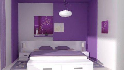 Dormitorio Blanco y Lila Proyectos que intentar Pinterest