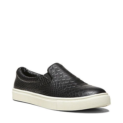 1f70e689f06 ECENTRIC BLACK SNAKE women's athletic fashion slip on - Steve Madden ...