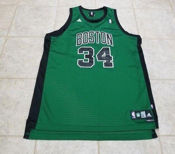 31ec06eda Paul Pierce Boston Celtics Green   Black Adidas Jersey Size XL Vintage   adidas  BostonCeltics